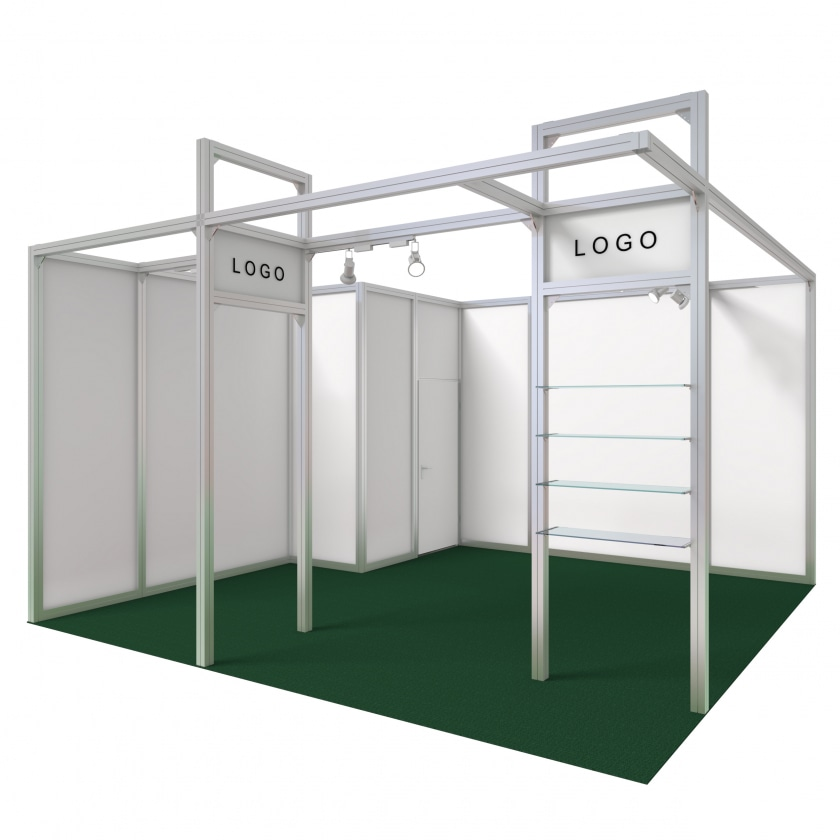 Exhibition Stand Wall Panels : Mystand konfigurator exhibition stand madrid from m²