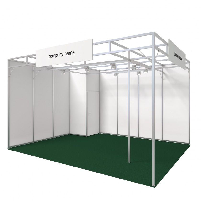 Exhibition Stand White : Mystand konfigurator exhibition stand tokyo from m² rips